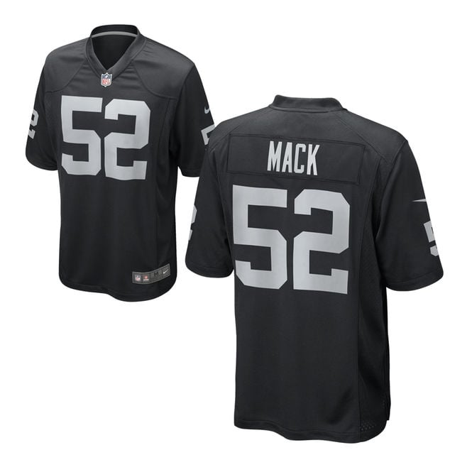 Nike NFL Oakland Raiders Home Game Jersey - Khalil Mack