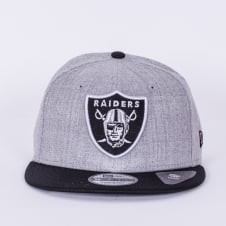 NFL Oakland Raiders Team Heather Mesh 9Fifty Snapback Cap