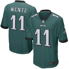 NFL Philadelphia Eagles Home Game Jersey - Carson Wentz