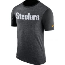 NFL Pittsburgh Steelers Color Dip Dri-Fit T-Shirt