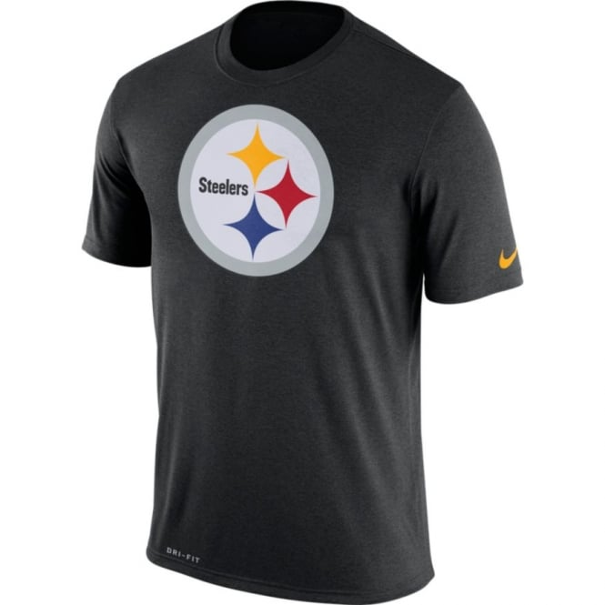 Nike NFL Pittsburgh Steelers Legend Logo Essential Dri-Fit T-Shirt