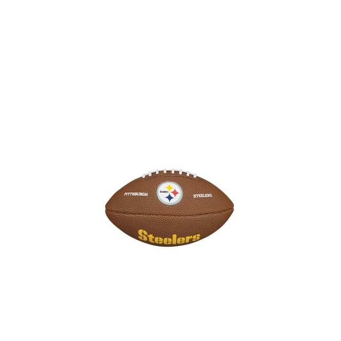 Wilson NFL Pittsburgh Steelers Mini Soft Touch Football