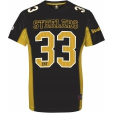 NFL Pittsburgh Steelers Moro Poly Mesh T-Shirt