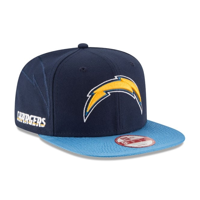 New Era NFL San Diego Chargers 9Fifty Sideline Snapback Cap
