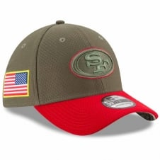 NFL San Francisco 49ers 2017 Salute to Service 39Thirty Cap