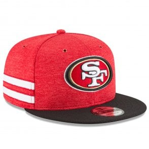super popular 9285f 0b446 NFL San Francisco 49ers 2018 Sideline 9Fifty Snapback