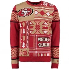 NFL San Francisco 49ers Alternate Patches Ugly Sweater