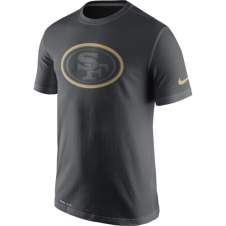 NFL San Francisco 49ers Anthracite Travel T-Shirt