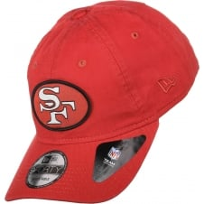 NFL San Francisco 49ers Patch 9Forty Adjustable Cap