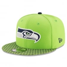 NFL Seattle Seahawks 2017 Sideline 9Fifty Snapback Cap