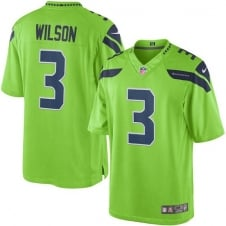 NFL Seattle Seahawks Color Rush Limited Game Jersey - Russell Wilson