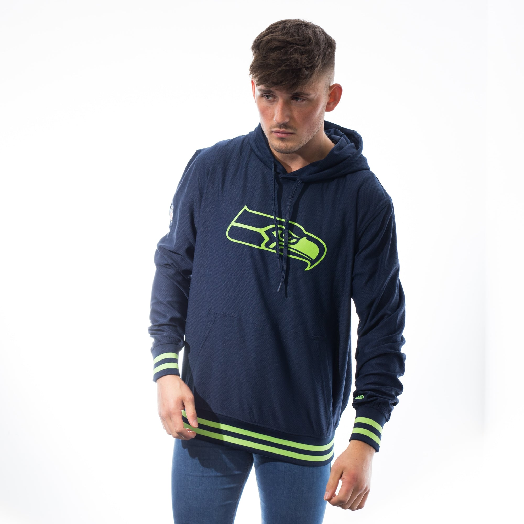 NFL Seattle Seahawks navy New Era Hoody