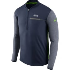 NFL Seattle Seahawks Half-Zip Coach Top