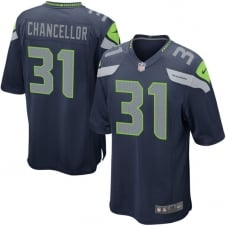 NFL Seattle Seahawks Home Game Jersey - Kam Chancellor