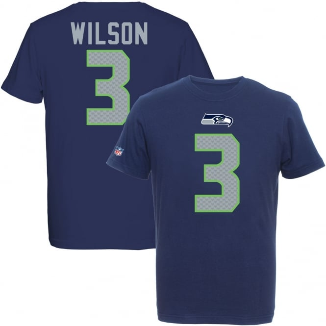 Majestic Athletic NFL Seattle Seahawks Russell Wilson Eligible Receiver T-Shirt