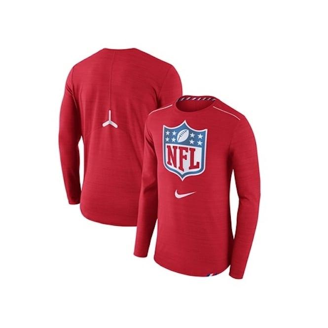 huge discount 6f173 d0573 NFL Shield Dri-Fit Long sleeve T-Shirt