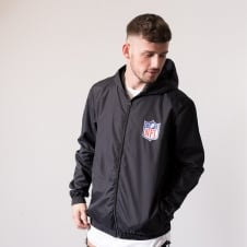 5081c1239ee NFL Shield Logo Racer Track Jacket Exclusive. Majestic Athletic ...