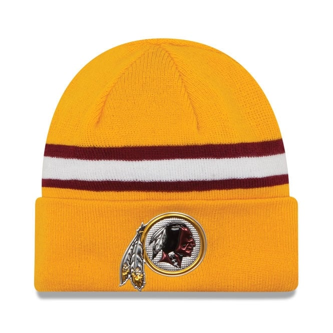 New Era NFL Washington Redskins Colour Rush On Field Cuffed Knit