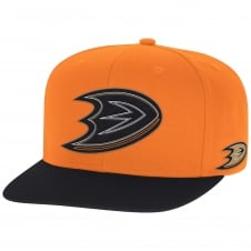 NHL Anaheim Ducks Face Off Two Tone Snapback Cap