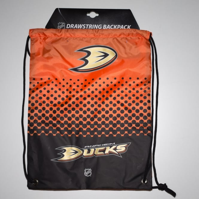 Forever Collectibles NHL Anaheim Ducks Fade Drawstring Backpack