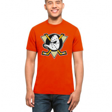 NHL Anaheim Ducks Orange Splitter T-Shirt
