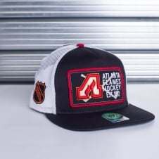 NHL Atlanta Flames Mesh Dome Snapback