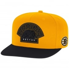 NHL Boston Bruins Face Off Two Tone Snapback Cap