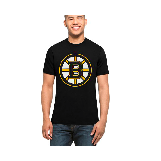 '47 NHL Boston Bruins Splitter T-Shirt