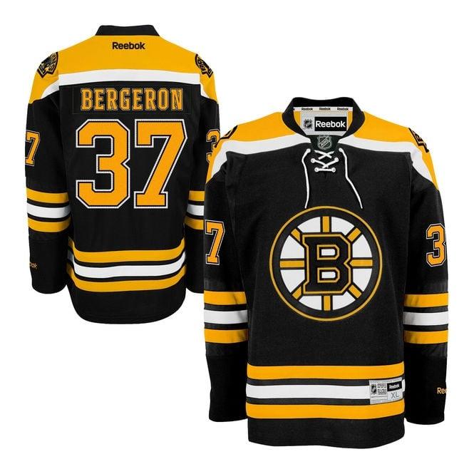 c8d0dbf03 Reebok NHL Boston Bruins Patrice Bergeron Home Premier Jersey ...