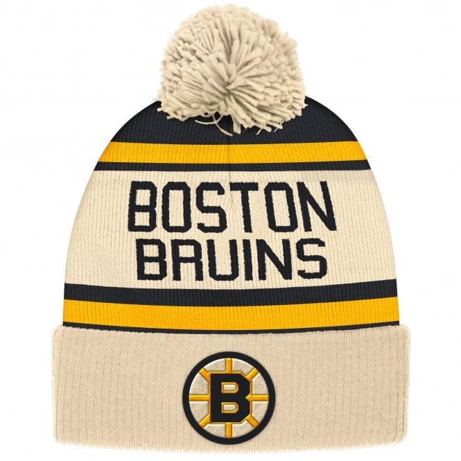331ebd8c2b4 CCM NHL Boston Bruins Vintage Cuffed Pom Knit - Headwear from USA ...