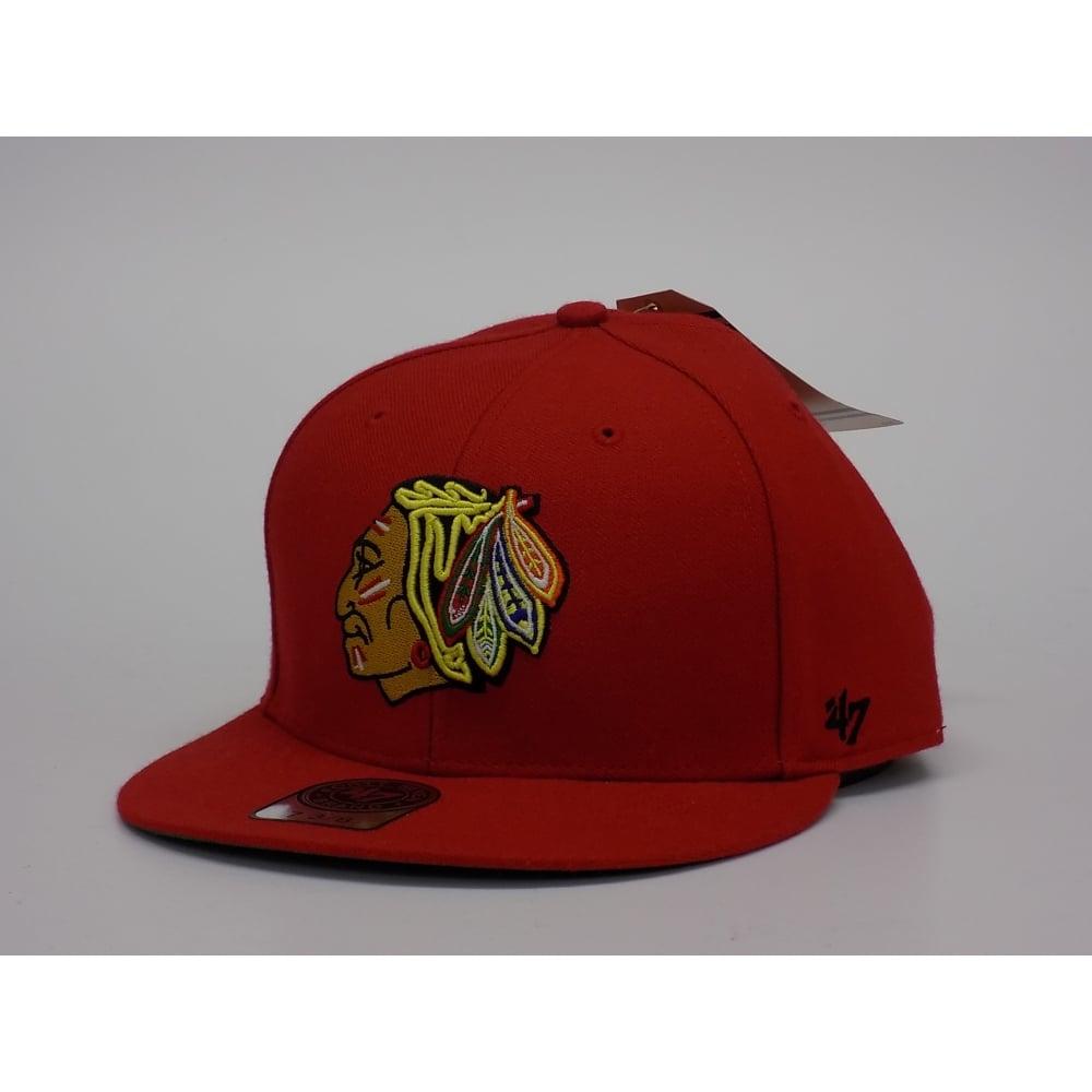 73fb09dd977 47 NHL Chicago Blackhawks 47  7 3 8 Fitted Cap - Headwear from USA ...