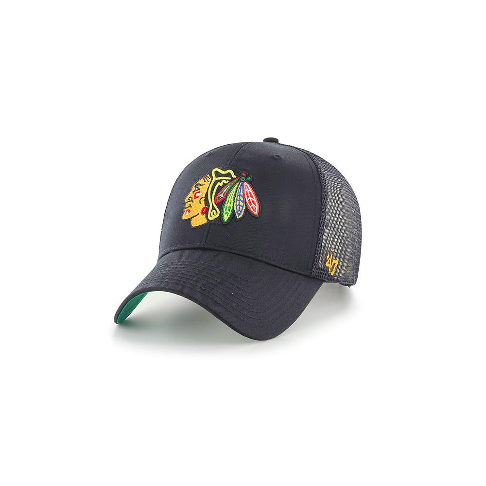 8bf3d00112d 47 NHL Chicago Blackhawks Branson  47 MVP Trucker Cap - Adjustable ...
