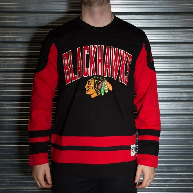 Old Time Hockey NHL Chicago Blackhawks Dufferin L/S T-Shirt