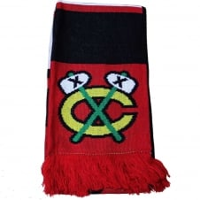 NHL Chicago Blackhawks Face Off Scarf