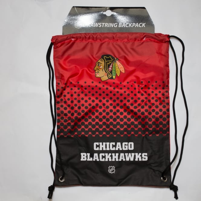 Forever Collectibles NHL Chicago Blackhawks Fade Drawstring Backpack