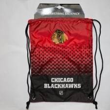 NHL Chicago Blackhawks Fade Drawstring Backpack