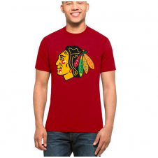 NHL Chicago Blackhawks Red Splitter T-Shirt