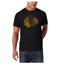 NHL Chicago Blackhawks Scrum Basic T-Shirt