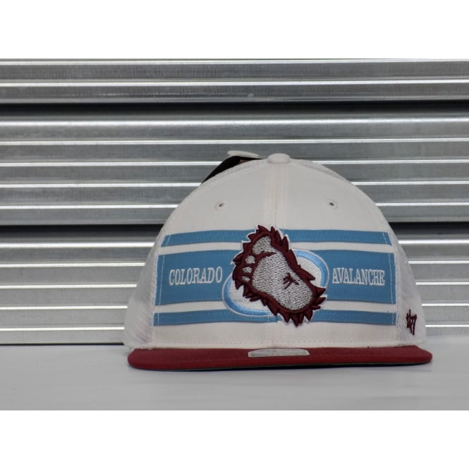'47 NHL Colorado Avalanche Alternate Logo Adjustable Snapback Cap