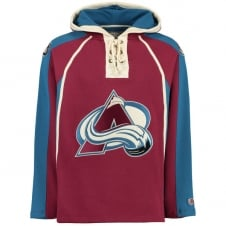 NHL Colorado Avalanche Lacer Jersey Hood