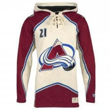 NHL Colorado Avalanche Peter Forsberg Lacer Jersey Hood