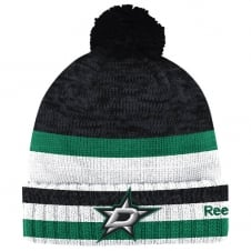 NHL Dallas Stars Center Ice Cuffed Pom Knit