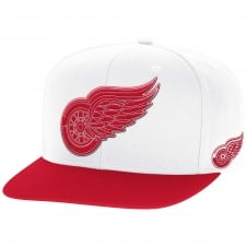 NHL Detroit Red Wings Face Off Two Tone Snapback Cap