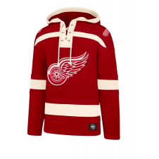 NHL Detroit Red Wings Lacer Jersey Hood