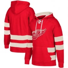 NHL Detroit Red Wings Pullover Jersey Hood
