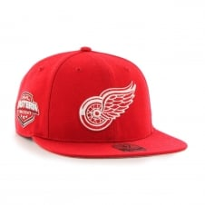 NHL Detroit Red Wings Sure Shot Captain Snapback