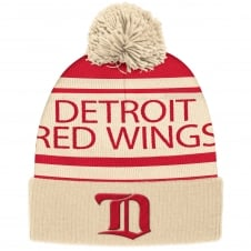 NHL Detroit Red Wings Vintage Cuffed Pom Knit