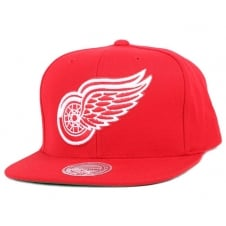 NHL Detroit Red Wings Wool Solid Snapback