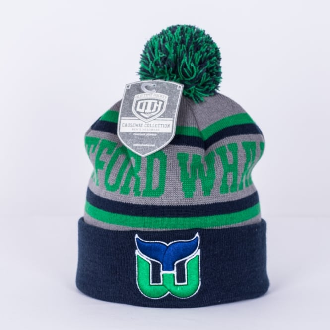 Old Time Hockey NHL Hartford Whalers Gravel Cuff Knit - Teams from ... 8529aa1f945