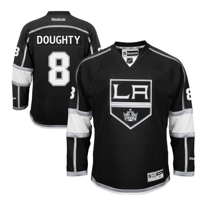 Reebok NHL Los Angeles Kings Drew Doughty Home Premier Jersey